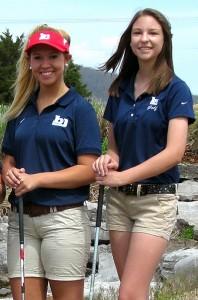 2015 BJHS Girls Golf Team
