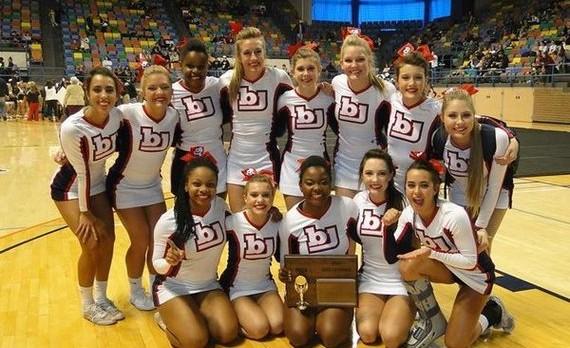 Bob Jones Cheerleaders repeat as State Champions