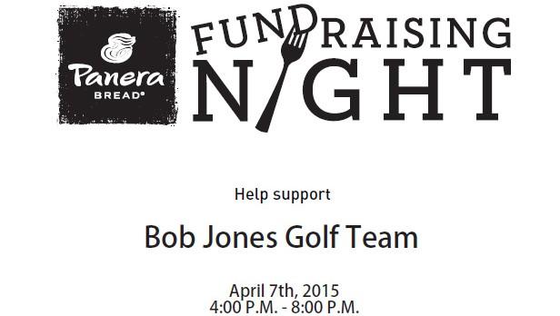 Golf Team Fundraiser – Tuesday, April 7th