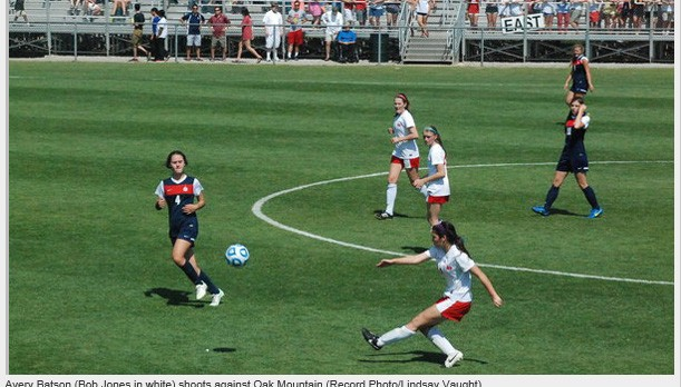 Bob Jones girls fall to Oak Mountain 2-0, season ends
