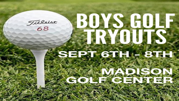 Golf Team Tryouts Announced