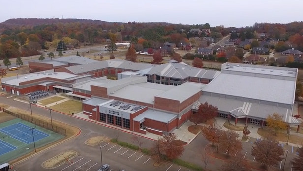 Bob Jones High School Campus Fly Over
