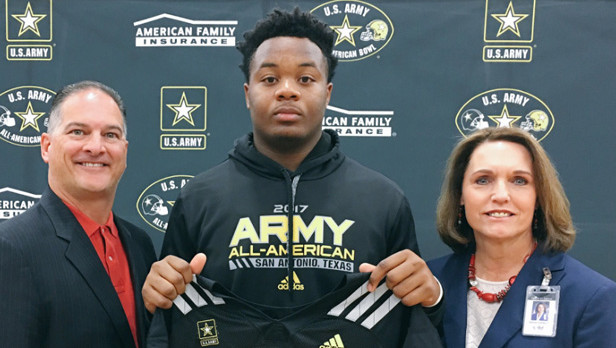 Kendall Randolph has been chosen to play in the U.S. Army All-American Bowl