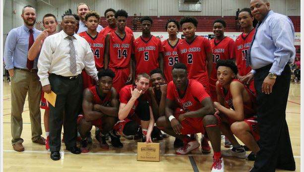 Bob Jones wins Area 8 championship