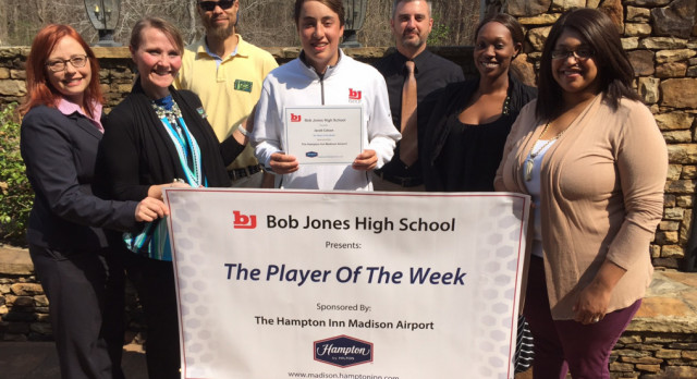 BJ Golf – Player of the Week