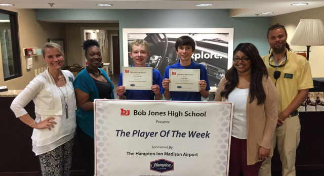 BJ Golf – Players of the Week
