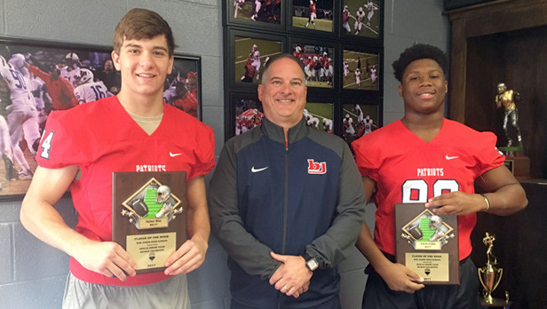 Dylan Ray & Chris Cobb – Remax Players of the Week against Buckhorn