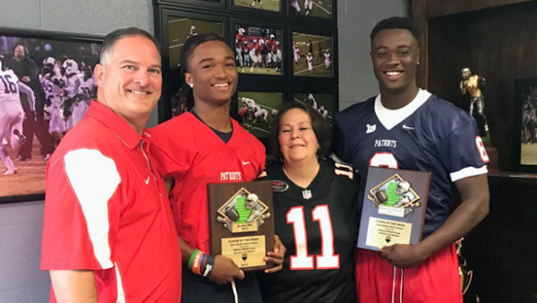 2017 Players of the Week for Florence
