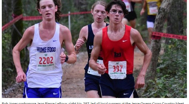 Bob Jones High School Boys Varsity Cross Country finishes 8th place