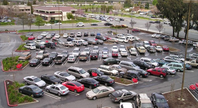 Parking for Friday's football game