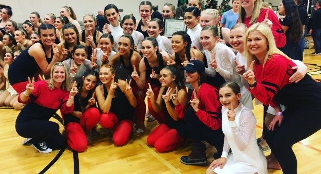 Dance Team Competes at Gladstone
