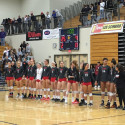State Volleyball versus Central Catholic