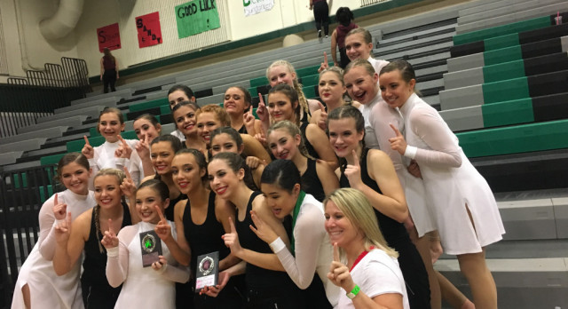 Dance Team rocks the Reynolds Competition