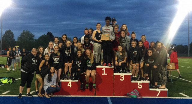 Girls win the District Meet