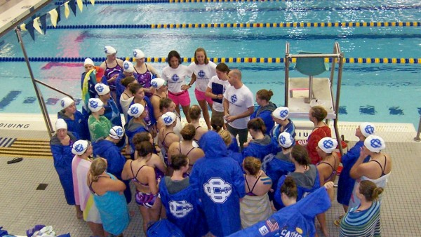 Grand Rapids Catholic Central High School Girls Swim Team Falls To East Grand Rapids And