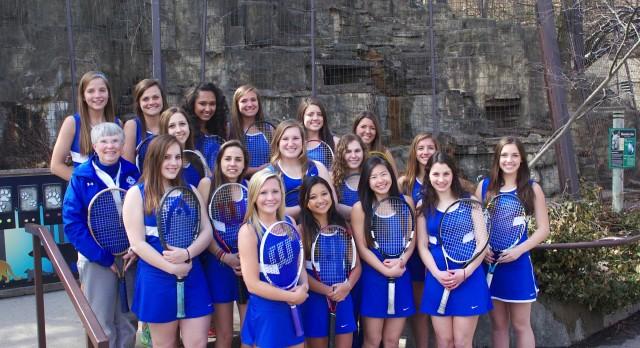 GIRLS VARSITY TENNIS – OK GOLD CHAMPS!!