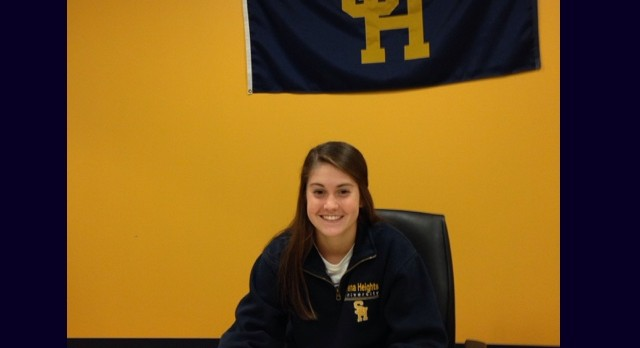 Erin Lantto Signs Letter of Intent – Siena Heights University