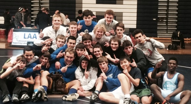 CC Wrestling Wins MHSAA Team Regional