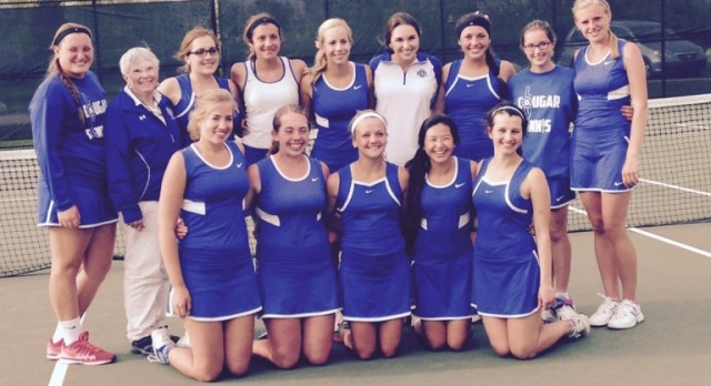 CC Girls Tennis Qualify for State Finals!
