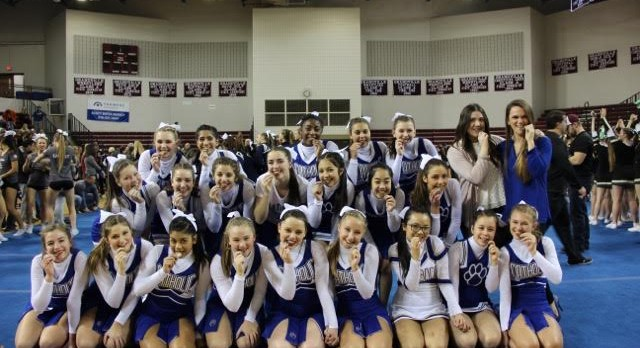 Big win for CC Competitive Cheer!