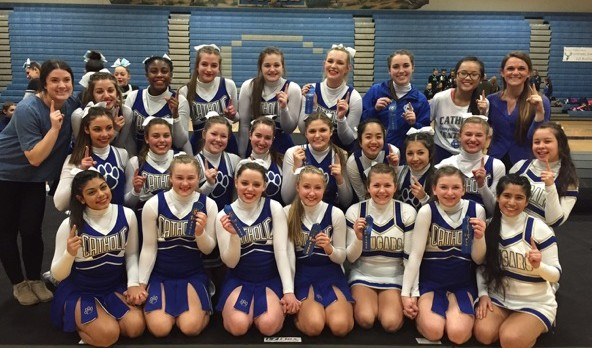 Another Win for CCHS Competitive Cheer