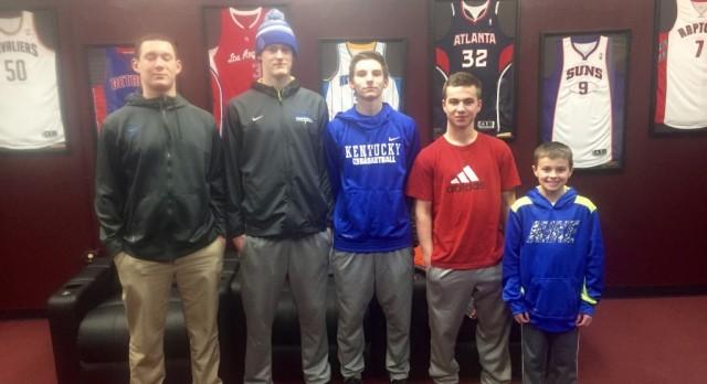 Cougar Basketball Enjoys College Visits