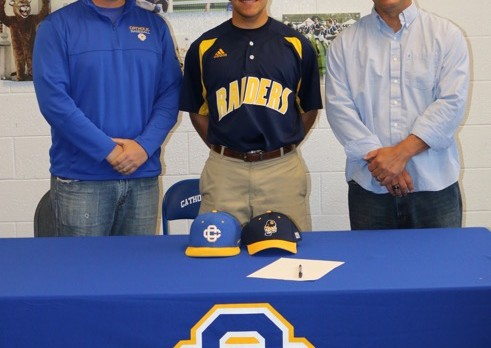 Jake Augustyn signs with GRCC to play baseball