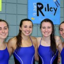 Grand Rapids Catholic Central Girls Swim and Dive Senior Night Pictures