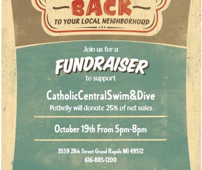 Girls Swim & Dive Team Fundraiser (10/19)