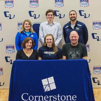Brooke Nicholson Signs With Cornerstone