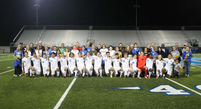 Boys Soccer Outscore Opponents 46-1 to Win OK Blue Conference