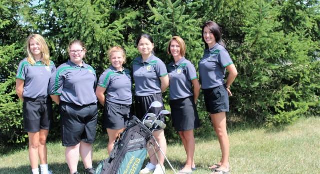 Northeastern High School Girls Varsity Golf finishes 9th place