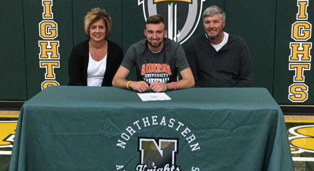 Nate Reynolds Signs With Anderson University