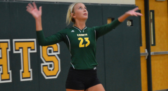 Volleyball's Morgan Benjamin Named Pal-Item Athlete of the Week for Volleyball