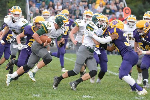 Knights Lose T.E.C. Rivalry Game @ Hagerstown…28-0