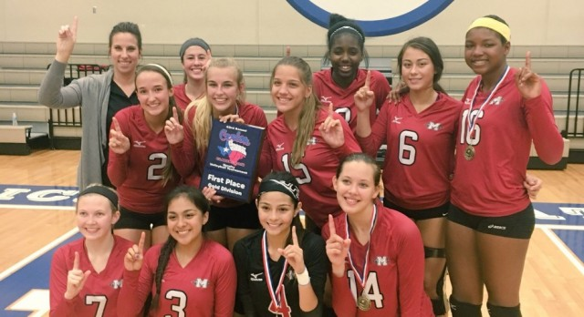 GCM WINS the Dickinson Volleyball Tournament