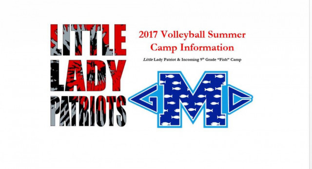 2017 Volleyball Camp Information