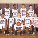 7th Grade Boys Basketball Team Photo