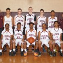 JV Boys Basketball Team Photo