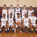 JV Boys Basketball Team Photo