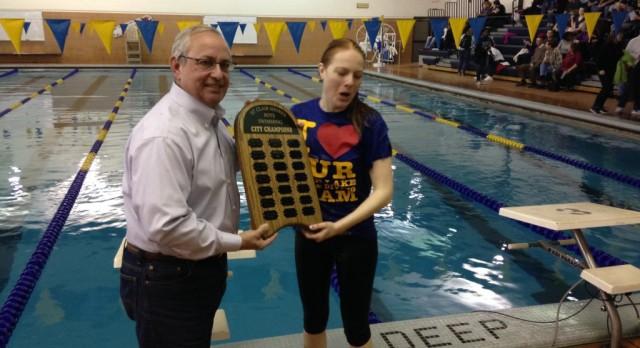 Boys Swim Wins Sixth Straight City Championship
