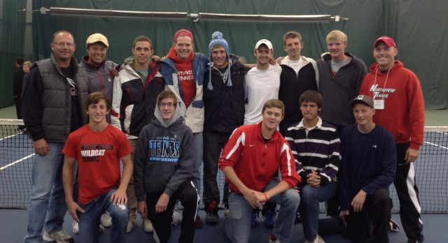Boys Tennis Team finishes 5th in the State!