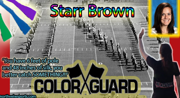 Color Guard Interview–Starr Brown