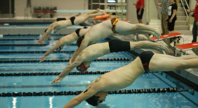 Boys Swimming Finishes second at Dewitt Inv.
