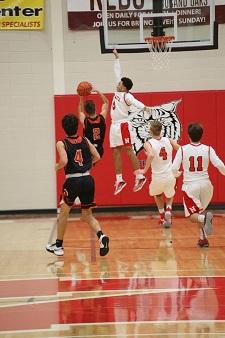 Northview High School Boys Varsity Basketball beat Thornapple-Kellogg High School 56-34