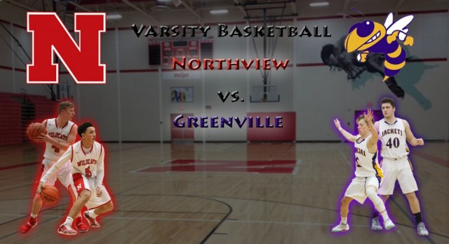 Northview High School Boys Varsity Basketball beat Greenville High School 59-45