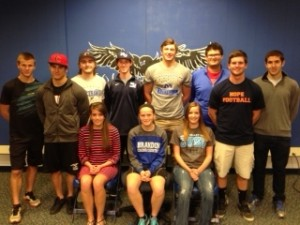 College Bound Student Athletes 2014