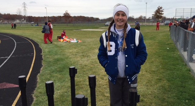 Senior Scout Crowell headed to the MHSAA X-Country Championships!