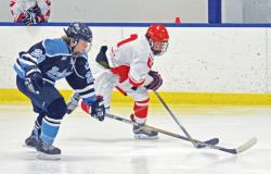 Brandon Alumni- Yuchasz playing Hockey for Northwood U!