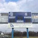 New Softball Scoreboard! Photo Gallery
